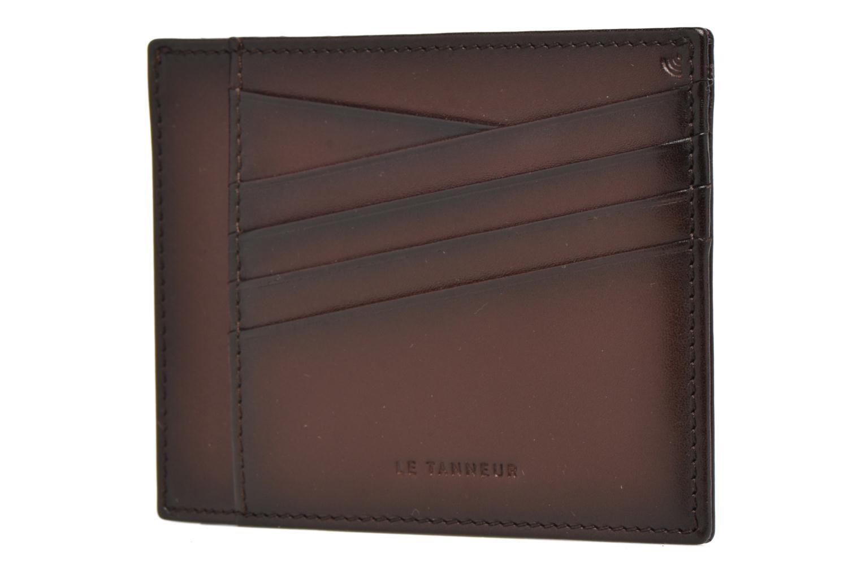 Wallets & cases Le Tanneur Porte papiers Corentin 4 poches 5cc anti RFID Brown model view
