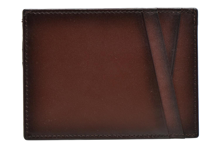 Portemonnaies & Clutches Le Tanneur Porte papiers Corentin 4 poches 5cc anti RFID braun ansicht von vorne