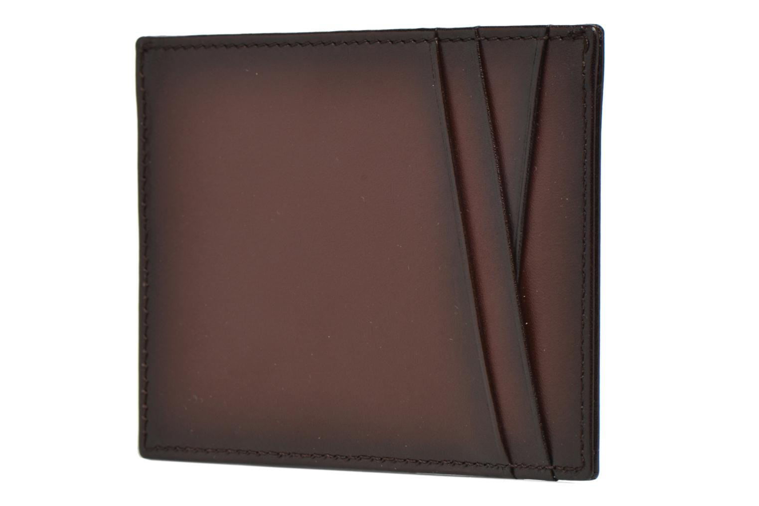 Wallets & cases Le Tanneur Porte papiers Corentin 4 poches 5cc anti RFID Brown view from the right