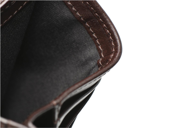 Wallets & cases Le Tanneur Porte papiers Corentin 4 poches 5cc anti RFID Brown back view
