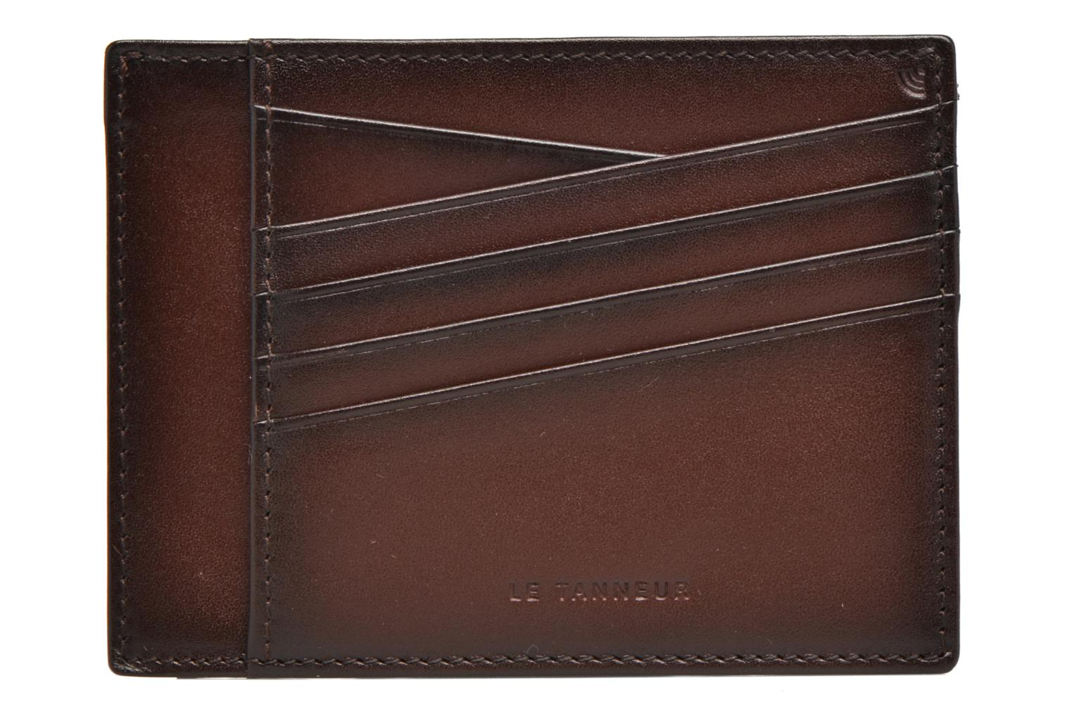 Wallets & cases Le Tanneur Porte papiers Corentin 4 poches 5cc anti RFID Brown view from the left