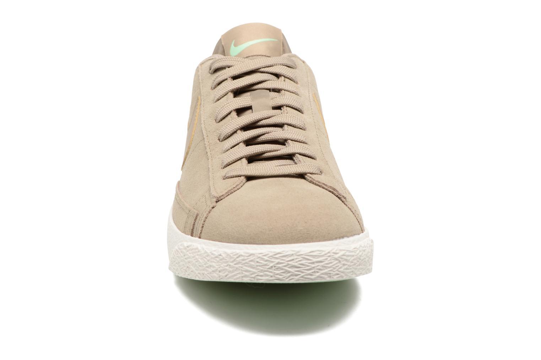 Sneakers Nike Blazer Low Beige bild av skorna på