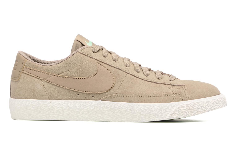Sneaker Nike Blazer Low beige ansicht von hinten