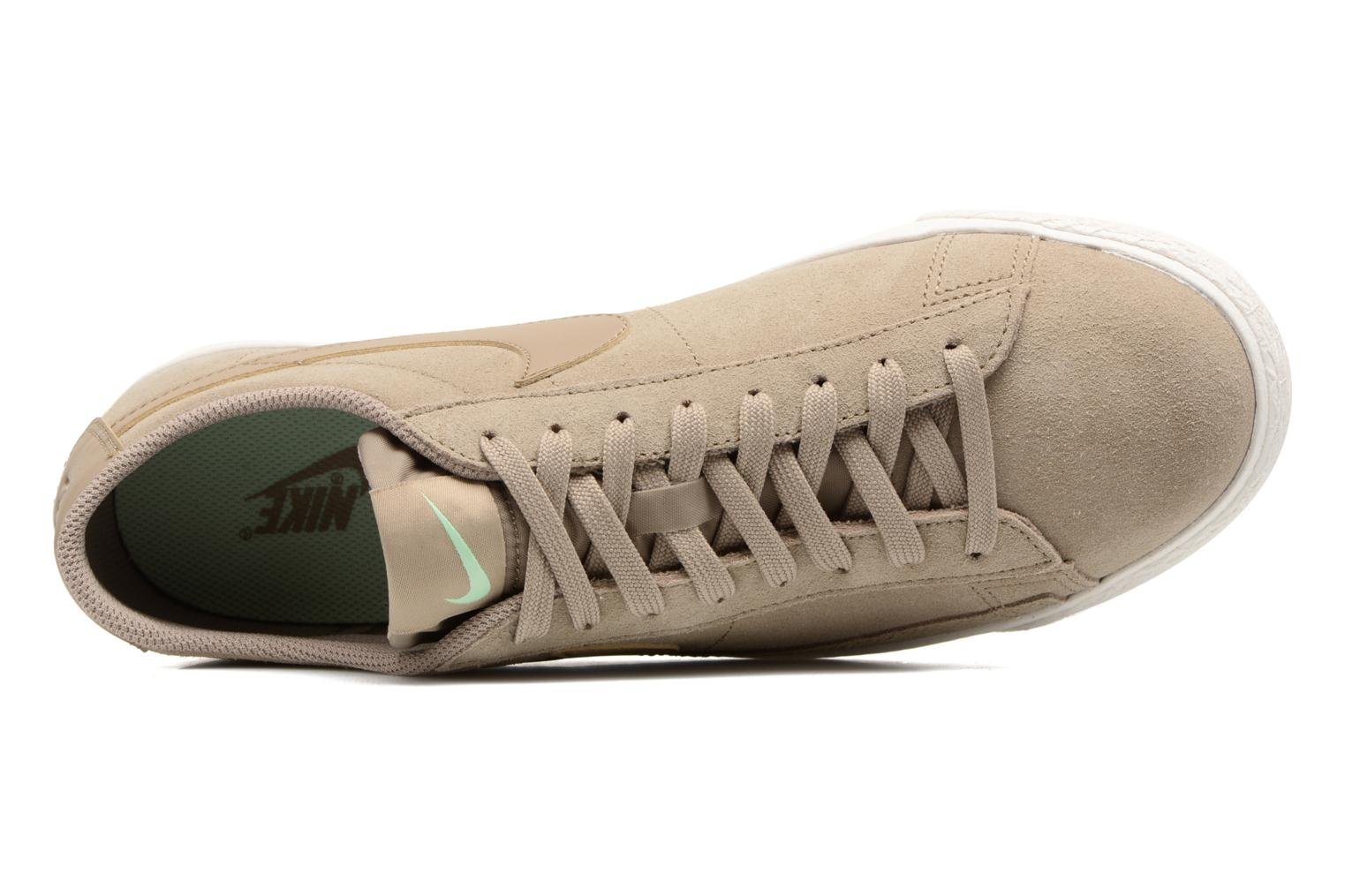 Baskets Nike Blazer Low Beige vue gauche