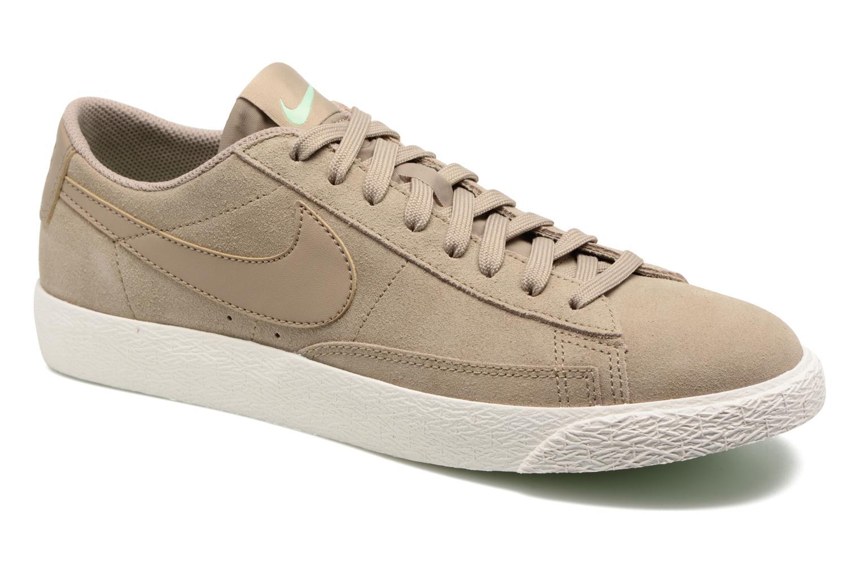 Baskets Nike Blazer Low Beige vue détail/paire