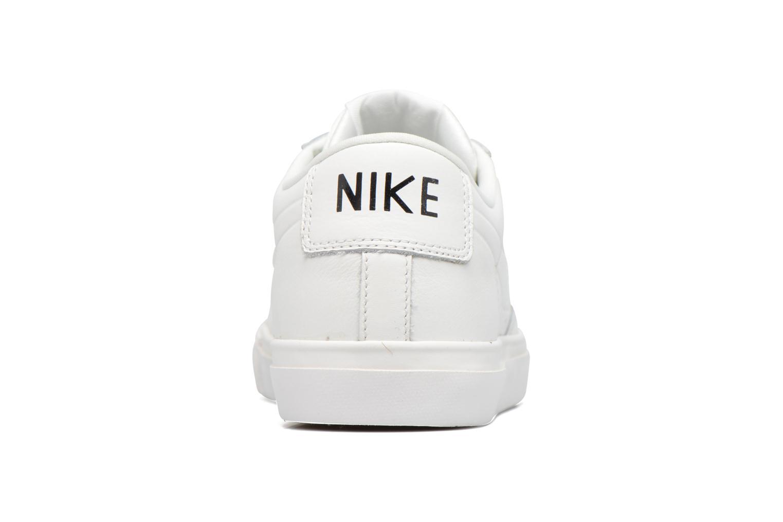 Deportivas Nike Blazer Low Blanco vista lateral derecha