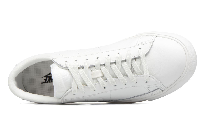Deportivas Nike Blazer Low Blanco vista lateral izquierda