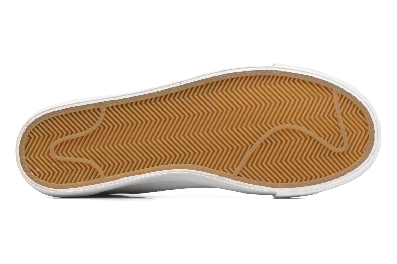 Baskets Nike Blazer Low Blanc vue haut