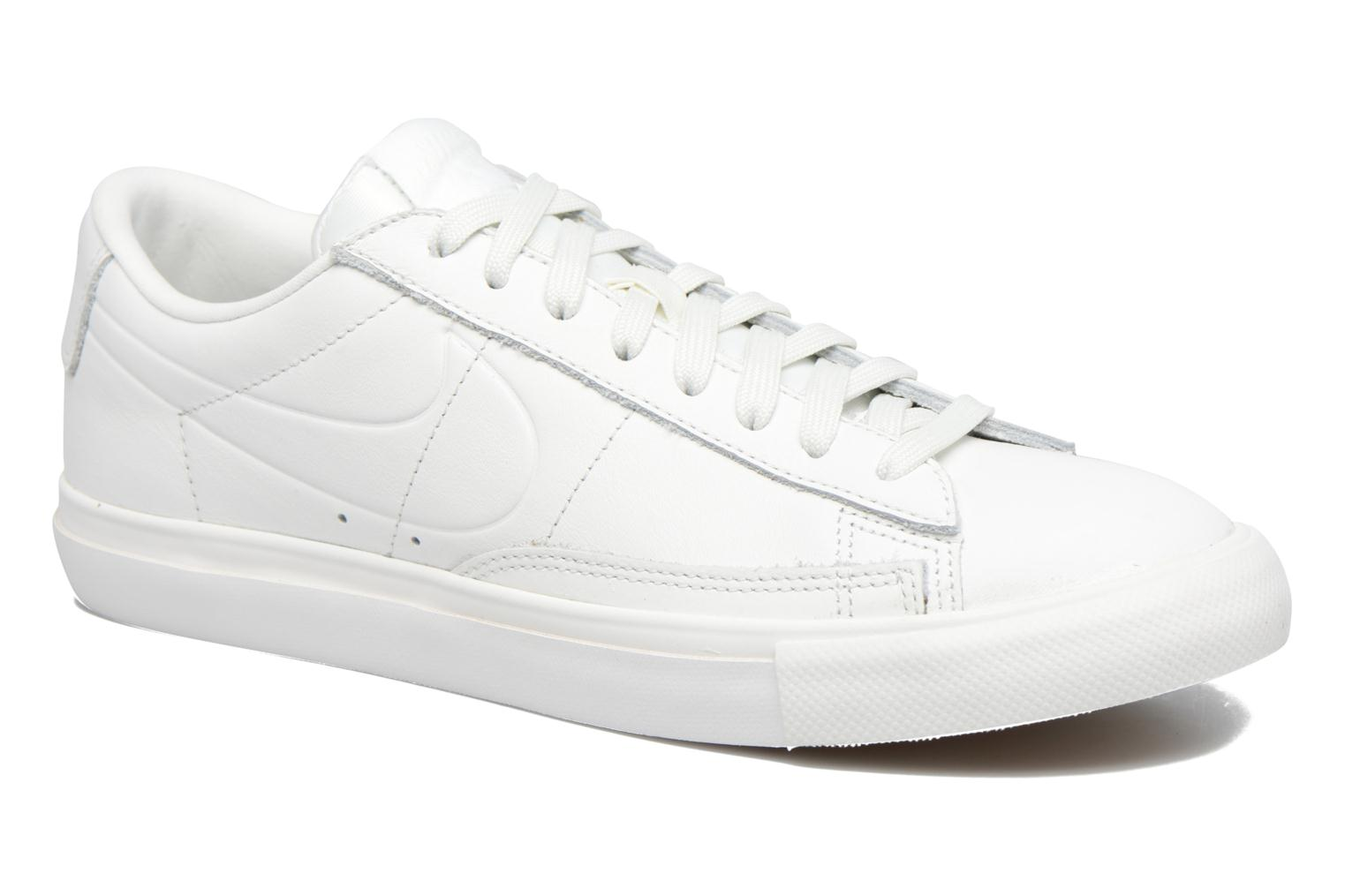 Baskets Nike Blazer Low Blanc vue détail/paire