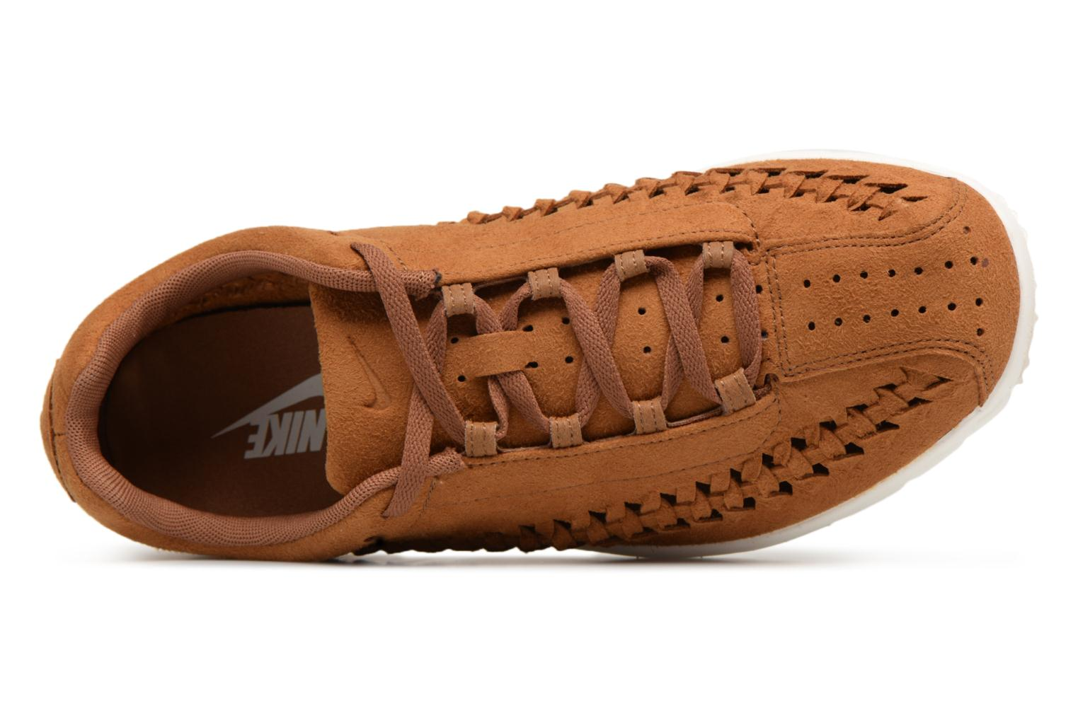 Trainers Nike Nike Mayfly Woven Brown view from the left