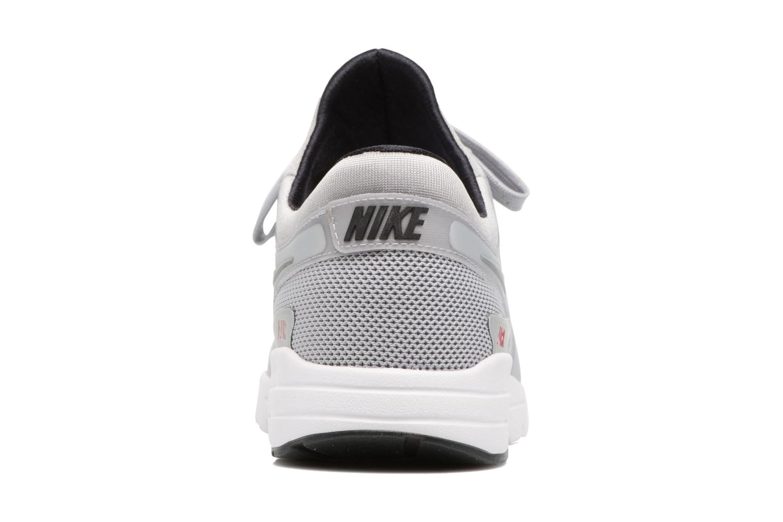 Deportivas Nike W Nike Air Max Zero Qs Gris vista lateral derecha