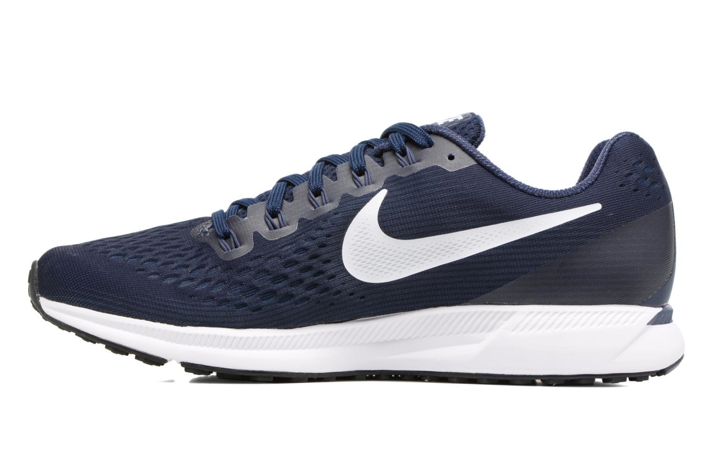 Chaussures de sport Nike Nike Air Zoom Pegasus 34 Bleu vue face