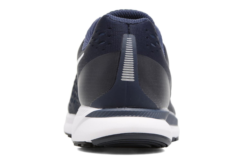 Chaussures de sport Nike Nike Air Zoom Pegasus 34 Bleu vue droite