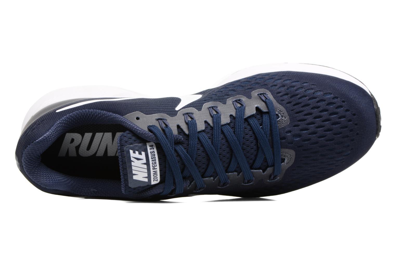 Chaussures de sport Nike Nike Air Zoom Pegasus 34 Bleu vue gauche