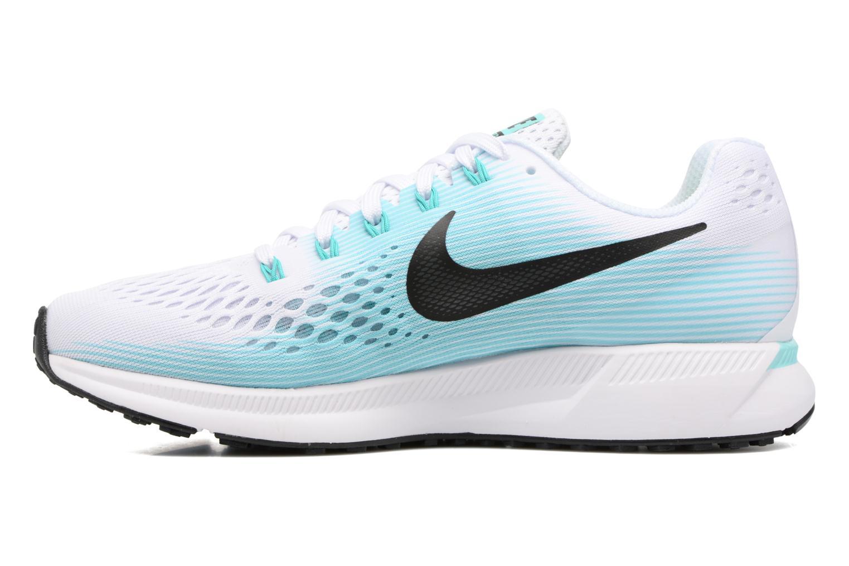 Chaussures de sport Nike Wmns Nike Air Zoom Pegasus 34 Bleu vue face
