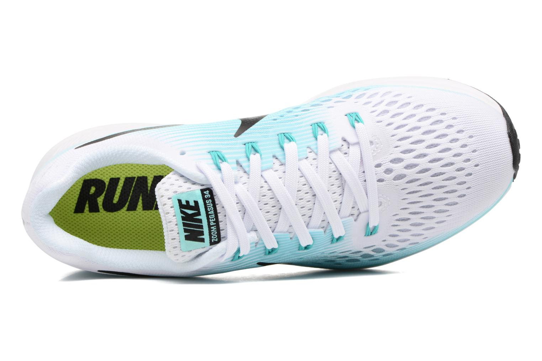 Wmns Nike Air Zoom Pegasus 34 White/Black-Aurora Green