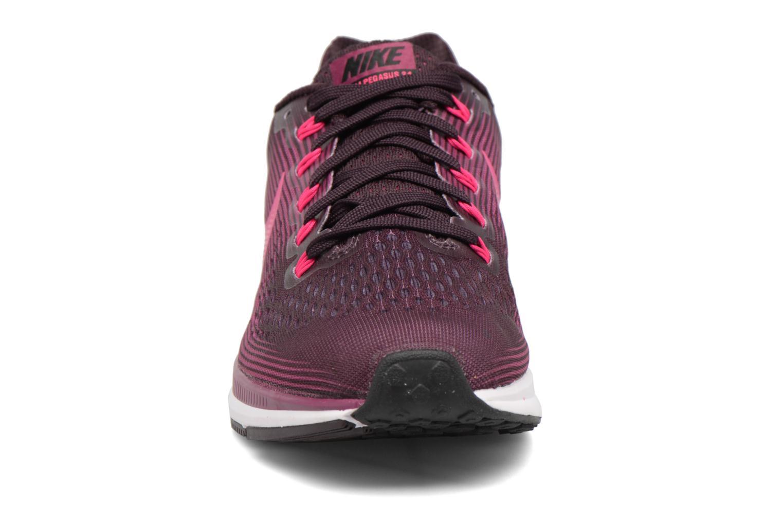 Chaussures de sport Nike Wmns Nike Air Zoom Pegasus 34 Bordeaux vue portées chaussures