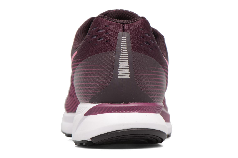 Chaussures de sport Nike Wmns Nike Air Zoom Pegasus 34 Bordeaux vue droite