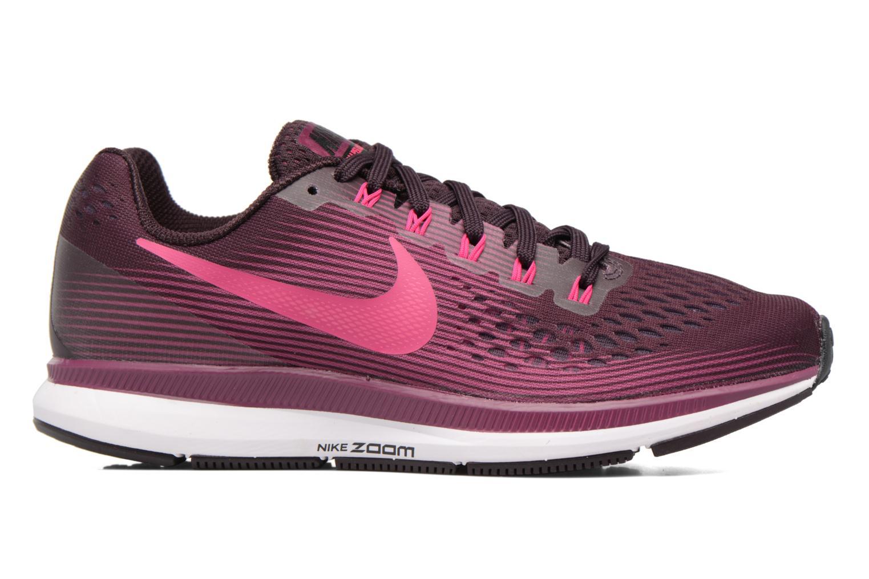 Sportschuhe Nike Wmns Nike Air Zoom Pegasus 34 weinrot ansicht von hinten