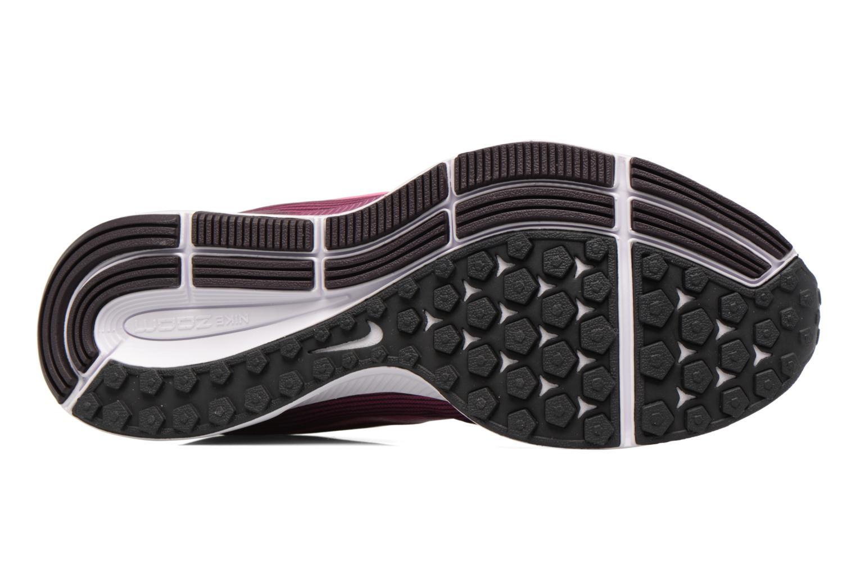 Sportschuhe Nike Wmns Nike Air Zoom Pegasus 34 weinrot ansicht von oben