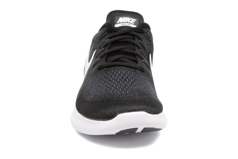 Chaussures de sport Nike Nike Free Rn 2017 Noir vue portées chaussures