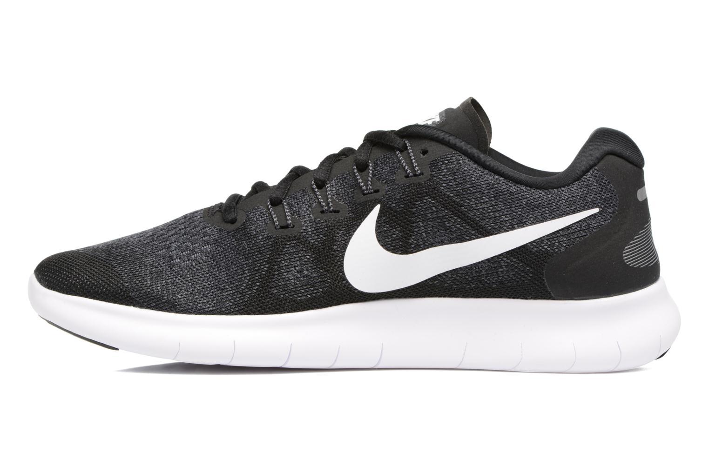 Zapatillas de deporte Nike Nike Free Rn 2017 Negro vista de frente
