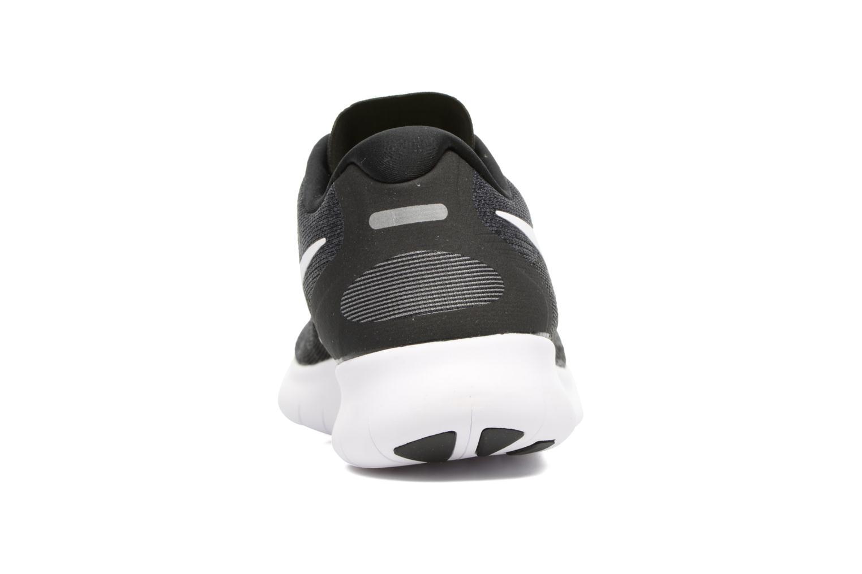 Zapatillas de deporte Nike Nike Free Rn 2017 Negro vista lateral derecha
