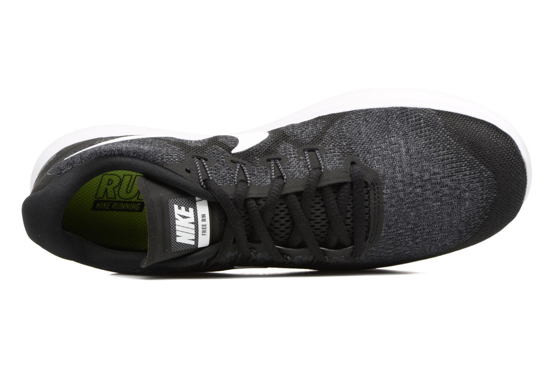 Zapatillas de deporte Nike Nike Free Rn 2017 Negro vista lateral izquierda