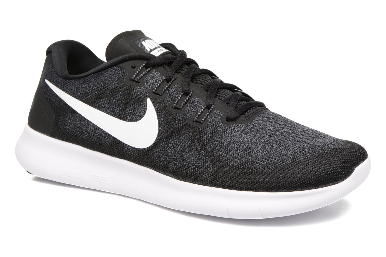 Nike Free Rn 2017 BLACK/WHITE-DARK GREY-ANTHRACITE