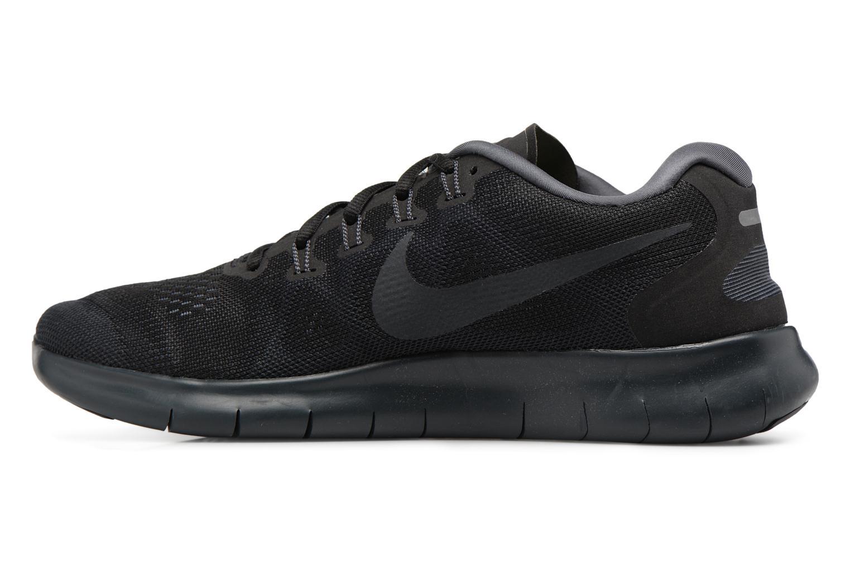 Sportschuhe Nike Nike Free Rn 2017 schwarz ansicht von vorne