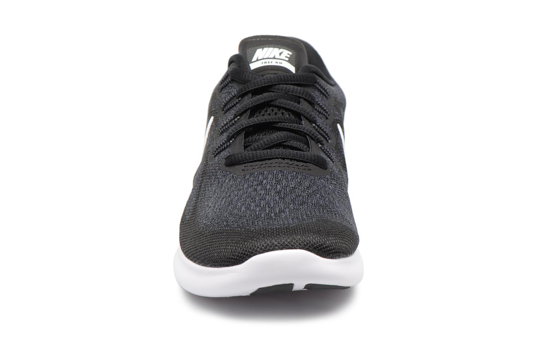 Chaussures de sport Nike Wmns Nike Free Rn 2017 Noir vue portées chaussures