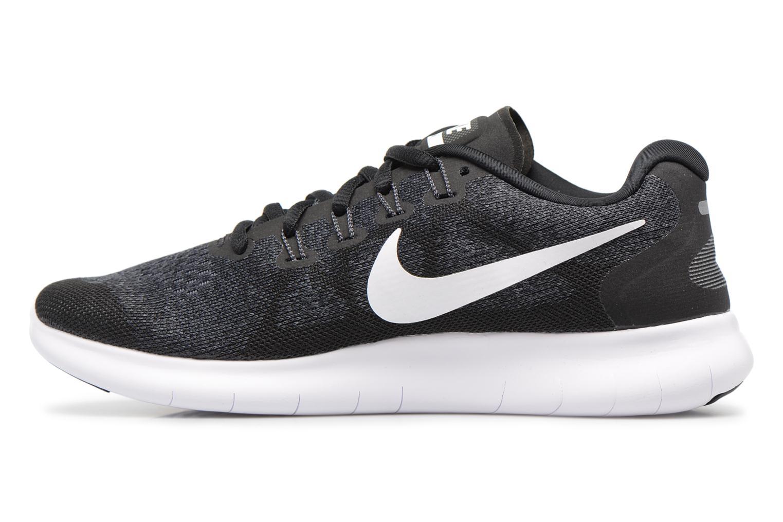 Chaussures de sport Nike Wmns Nike Free Rn 2017 Noir vue face
