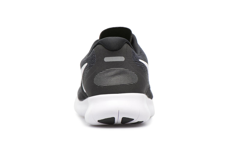 Wmns Nike Free Rn 2017 BLACK/WHITE-DARK GREY-ANTHRACITE