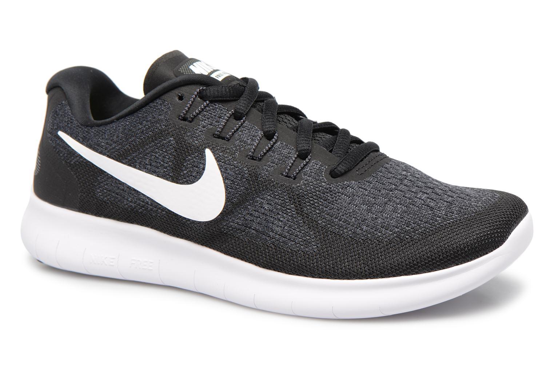 Sportssko Nike Wmns Nike Free Rn 2017 Sort detaljeret billede af skoene