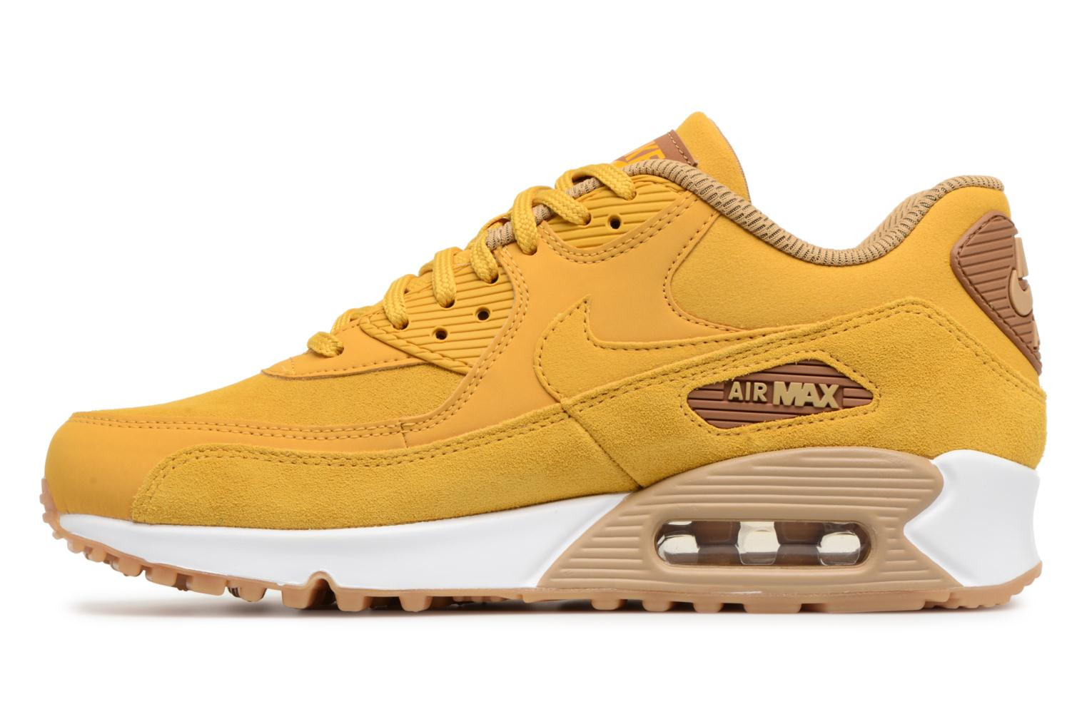 Sneakers Nike Wmns Air Max 90 Se Giallo immagine frontale