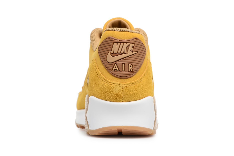 Baskets Nike Wmns Air Max 90 Se Jaune vue droite