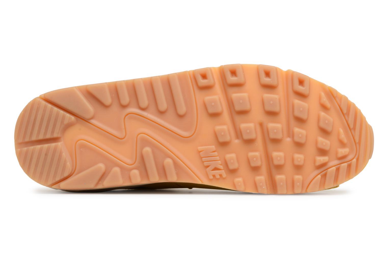 Baskets Nike Wmns Air Max 90 Se Jaune vue haut