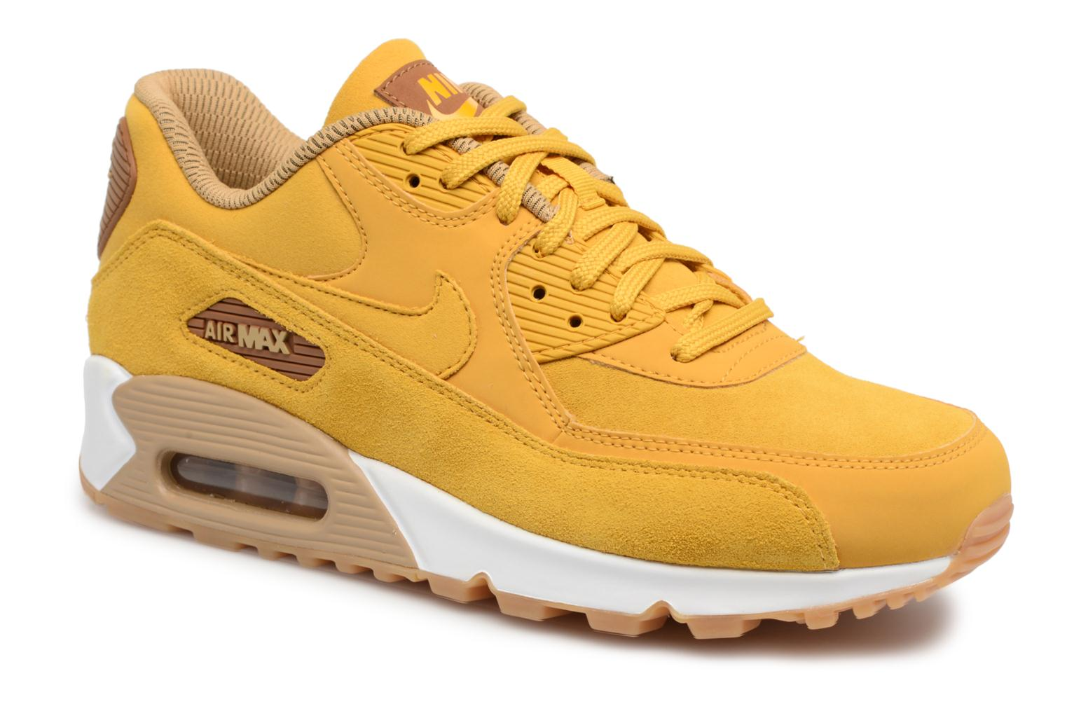 Trainers Nike Wmns Air Max 90 Se Yellow detailed view/ Pair view