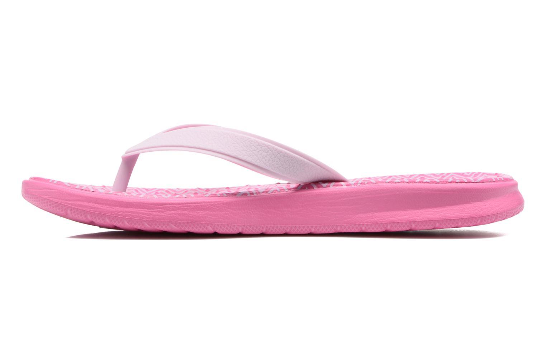 Chanclas Nike Nike Solay Rosa vista de frente