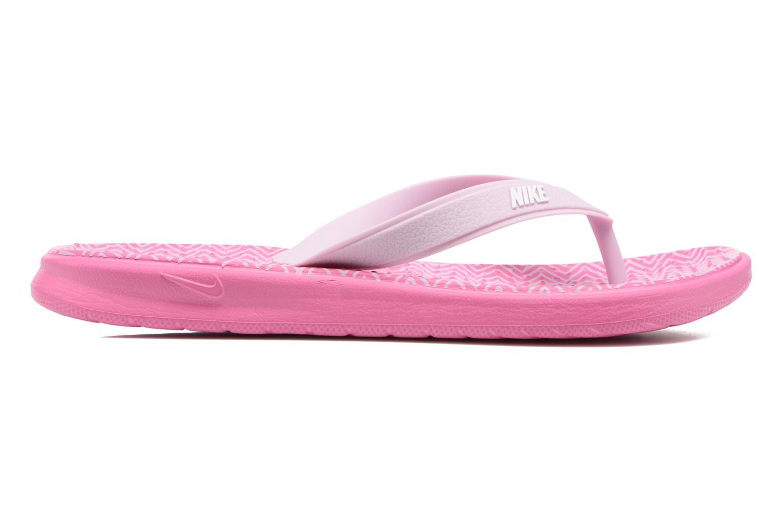 Chanclas Nike Nike Solay Rosa vistra trasera