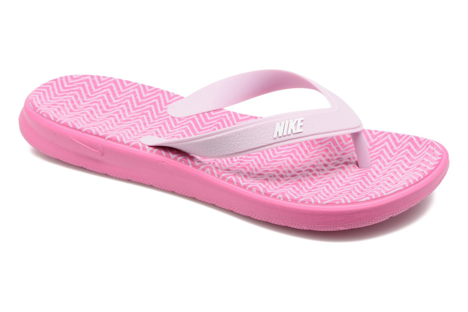 Flip flops Nike Nike Solay Pink detailed view/ Pair view