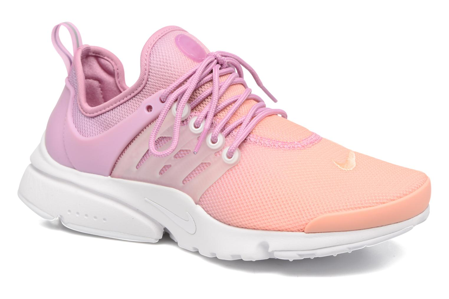 Wmns Air Presto Ultra Br SUNSET GLOW/WHITE-ORCHID-GLACIER BLUE