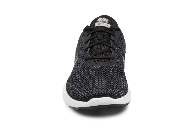Chaussures de sport Nike W Nike Flex Trainer 7 Noir vue portées chaussures
