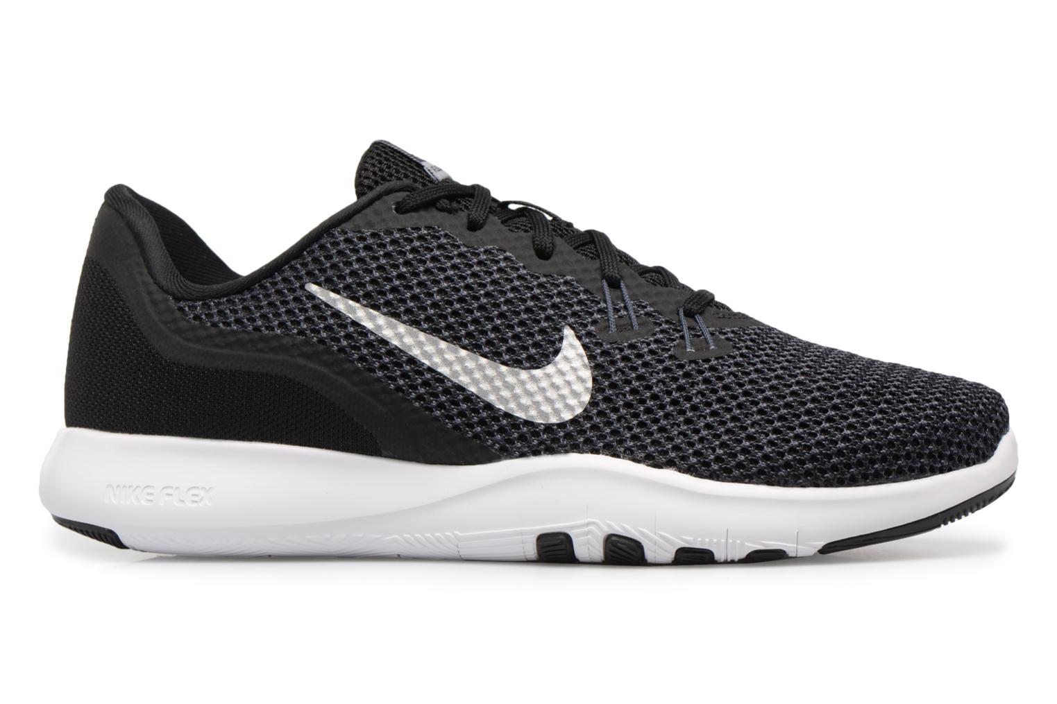W Nike Flex Trainer 7 Black/Metallic Silver-Anthracite-White