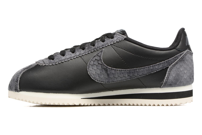 Sneakers Nike Wmns Classic Cortez Prem Zwart voorkant