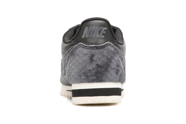 Baskets Nike Wmns Classic Cortez Prem Noir vue droite