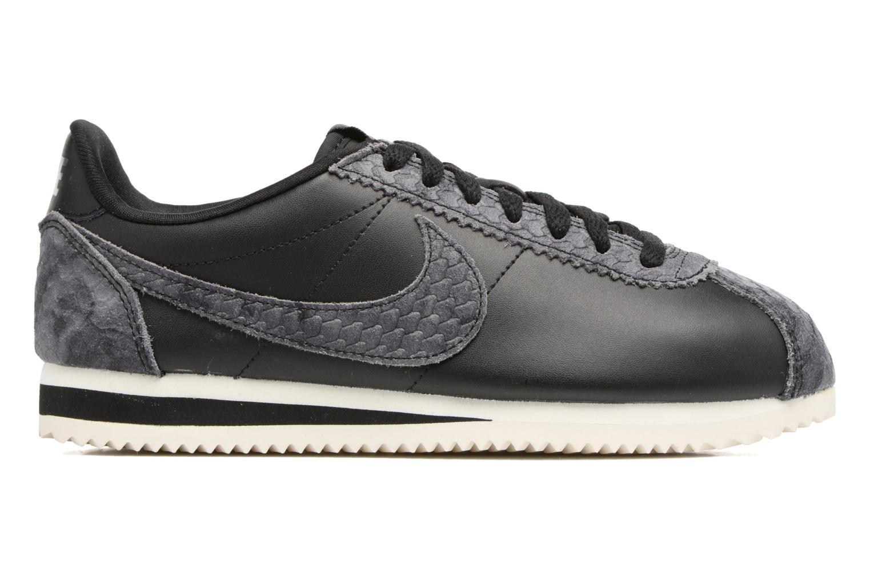 Sneakers Nike Wmns Classic Cortez Prem Zwart achterkant