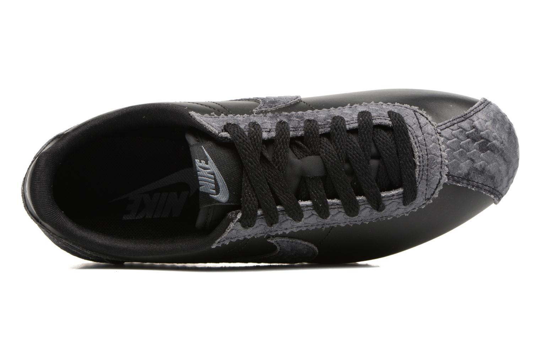 Baskets Nike Wmns Classic Cortez Prem Noir vue gauche
