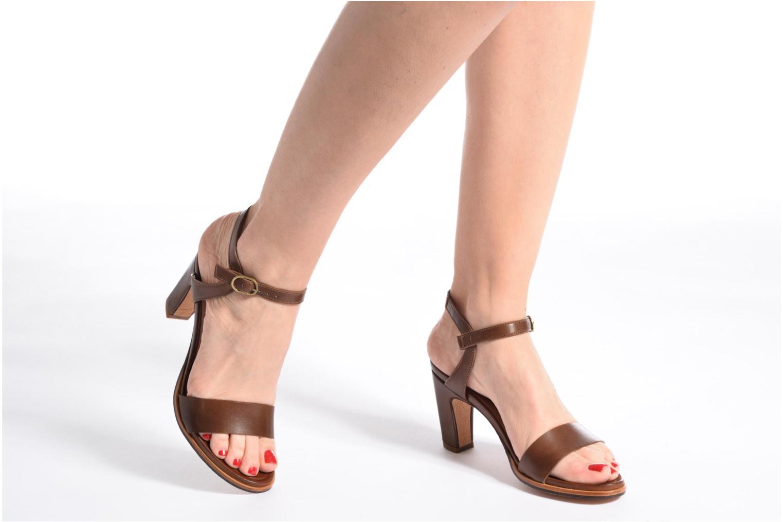 Sandales et nu-pieds Neosens Altesse S466 Vert vue bas / vue portée sac