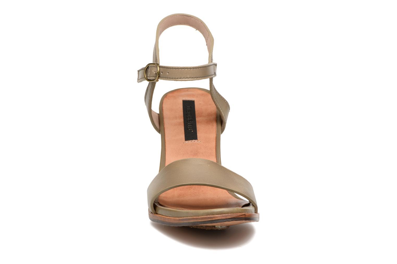 Sandales et nu-pieds Neosens Altesse S466 Vert vue portées chaussures